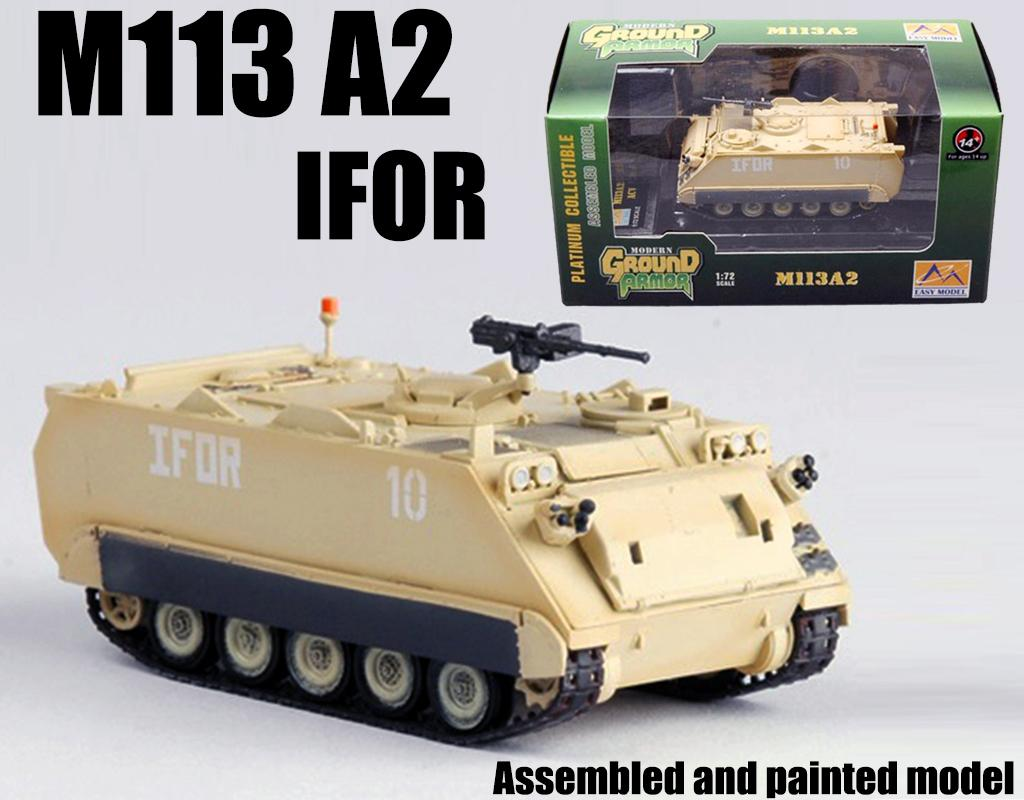 M113 Armored Personnel Carrier IFOR Tank 1/72 Non Diecast Easy Model