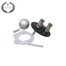 GEN 1 KIT de presión de FERMENTASAURUS con postes de bloqueo de bola y tubo de inmersión de silicona