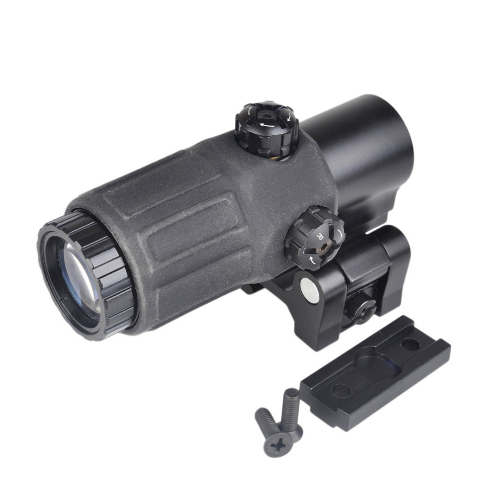 Outdoor Hunting Scope G33 3X Magnifier Holographic Sight Scope For 20mm Weaver Rail Mounts with Switch to Side Quick DetachableOutdoor Hunting Scope G33 3X Magnifier Holographic Sight Scope For 20mm Weaver Rail Mounts with Switch to Side Quick Detachable