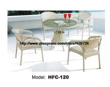 Beautiful White Rattan Chiars Table Garden Set Leisure Holiday Balcony  Beach Garden Outdoor Furniture Factory Sale Chairs Table