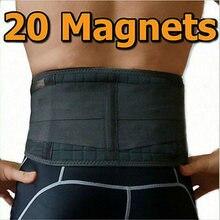 AOFEITE soporte para la espalda con 20 imanes, correa para el cinturón Lumbar, alivio del dolor de espalda baja