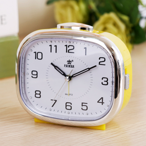 Image 5 - Small night lamp bedside alarm clock music creative personality of students are lazy children bedroom modern square table