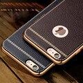 Личи зерна роскошные Покрытие ТПУ силиконовый чехол мобильный телефон Для iphone 6 6 s плюс 7 5 5S se Случае Покрытие Рамка обложка Для iphone6 7