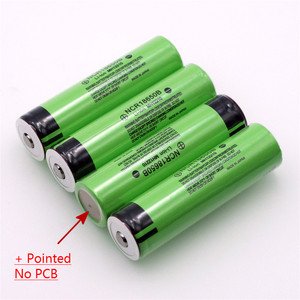 Image 4 - VariCore Original 18650 3.7 v 3400 mah Lithium Rechargeable Battery NCR18650B with Pointed(No PCB) For flashlight batteries