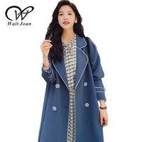 New Fashion Elegant Trenchcoat Spring Autumn Trench Coat Women Clothes Korean Long Coats Top Female Casual Loose Raincoats WJ187