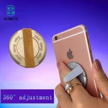 ad69a0d882 SIANCS Anti Slip Titular Do Telefone Para o iphone X Samsung huawei  telefone Dedo Sling Grip Elastic Band Strap Suporte para Cel.