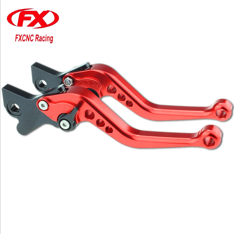 FX CNC Motorcycle Brake Clutch Levers For Yamaha XT660Z XT 660Z Tenere 2008-2014 2009 2010 2011 2012 2013 Motorcycle Parts new cnc billet clutch cover outside for ktm 250 xcf w 2008 2009 2010 2011 2012 2013