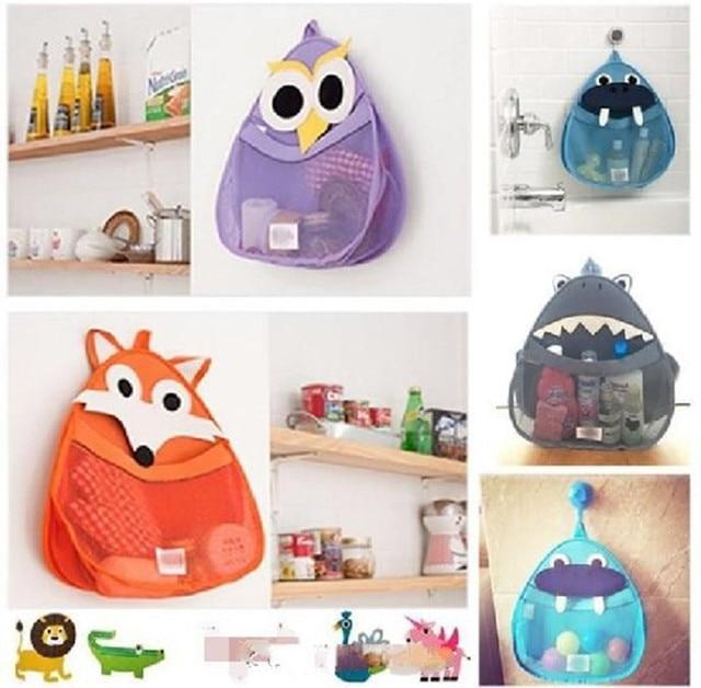 New Bath Toy Storage Net Bag Bathroom Tidy Organizer Baby Kids Shower  Accessories Free Shipping High