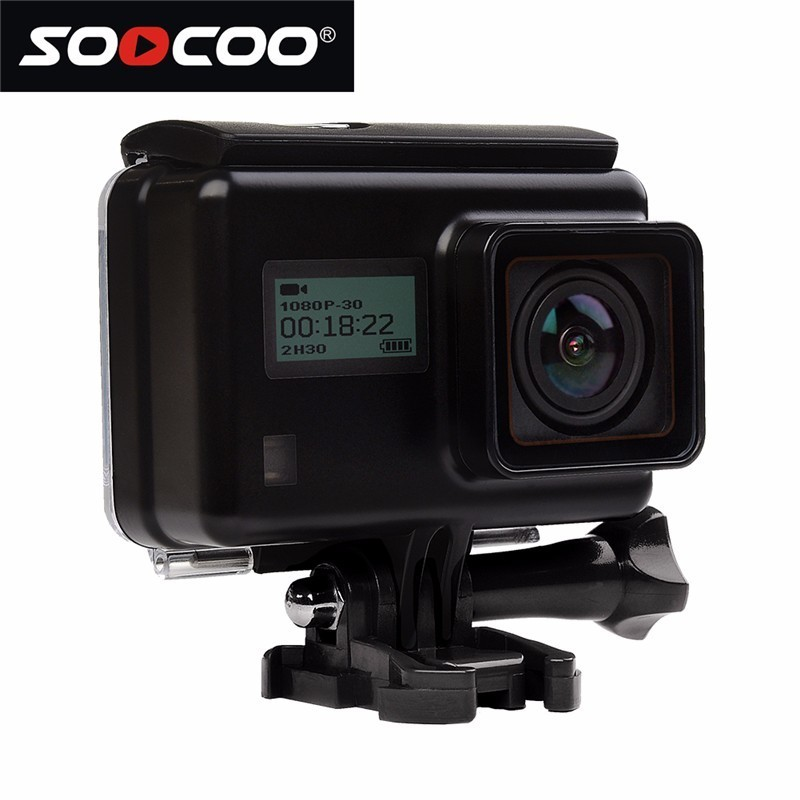 SOOCOO S200 Ultra-HD 4K Dual-screen Smart Voice-activated Touch Screen External Microphone Sports GPS Camera Action DV
