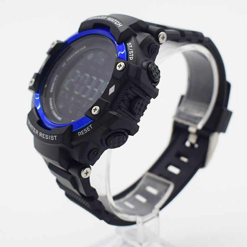Azul impermeable muñeca digital automático relojes para hombres digitais  reloj corriendo mens hombre reloj aerodinámico barato útil en Relojes  digitales de ... da9e105b85ac