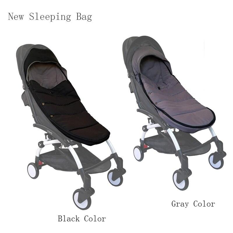 Cochecito de bebé de invierno bolsa de dormir a prueba de viento para Yoya Yoyo cochecito Bugaboo cálido saco bebé de la cubierta de accesorios para cochecito