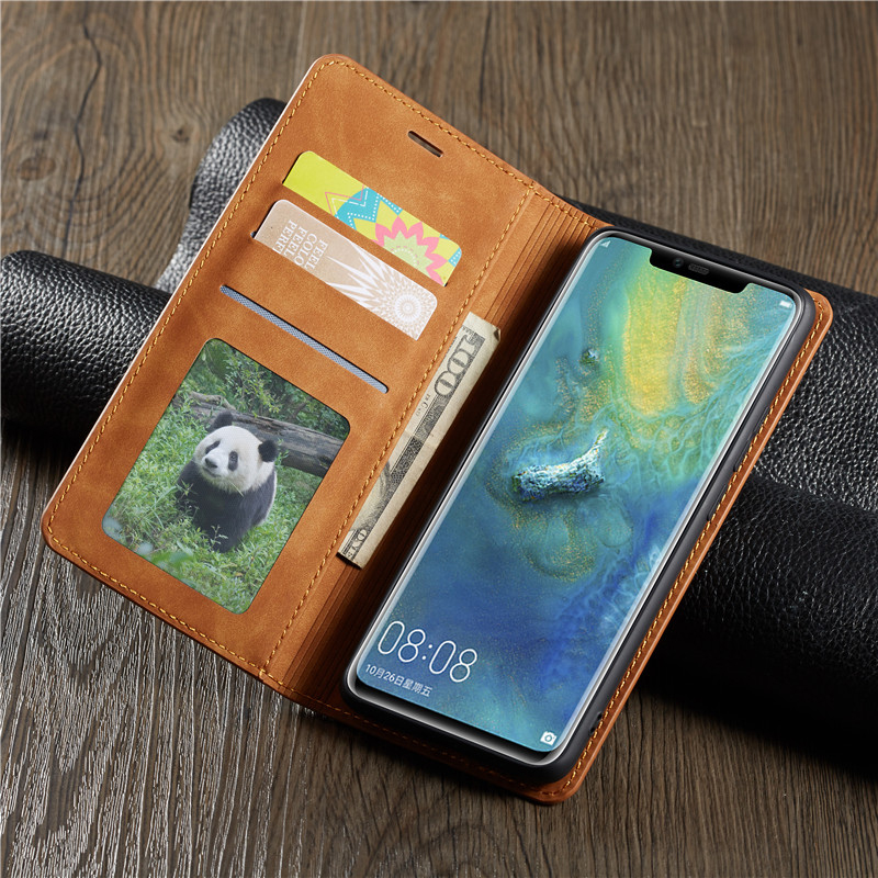 HTB1ts82JSzqK1RjSZFLq6An2XXa2 Magnetic Leather Case For Huawei Mate 20 30 P20 P30 Pro Lite P Smart Plus 2019 Honor10lite Wallet Flip P30pro Stand Cover Etui