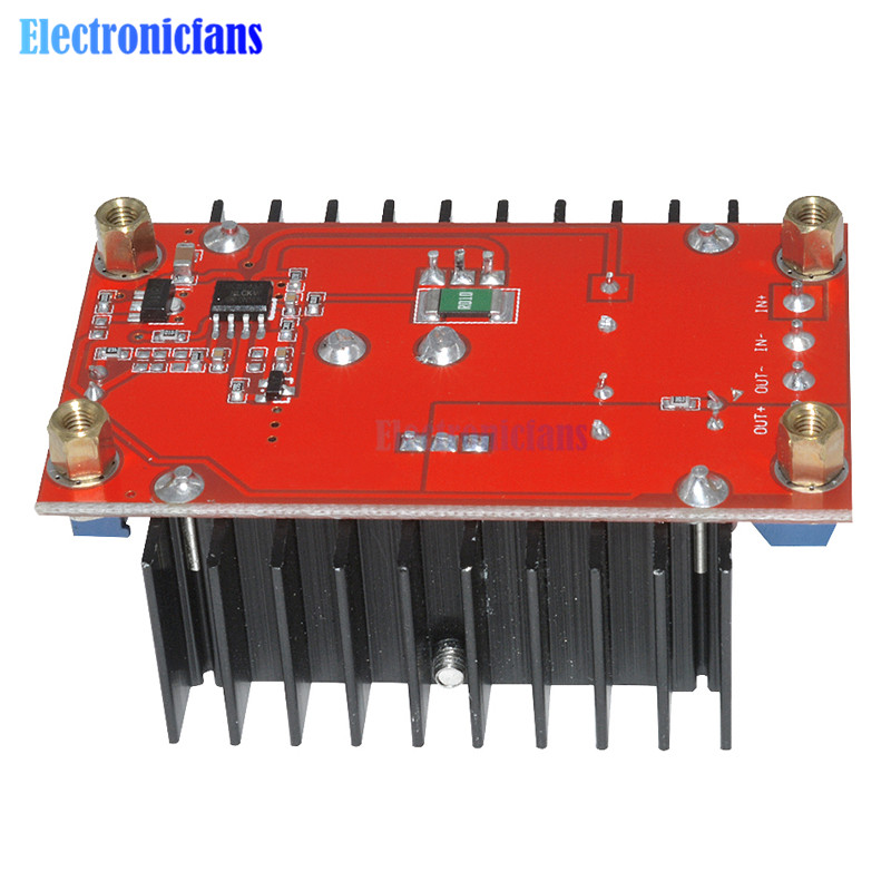 Image 4 - 150W DC DC Boost Converter Step Up Power Supply Module 10 32V To 12 35V 10A Laptop Voltage Charge Board For Arduino-in Integrated Circuits from Electronic Components & Supplies