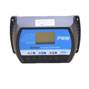 Контроллер заряда PWM 20A, с ЖК-дисплеем USB, полностью 4-ступенчатое управление зарядкой ШИМ, для панели солнечной батареи макс. 50 в 480 Вт, RTD-20A, но...