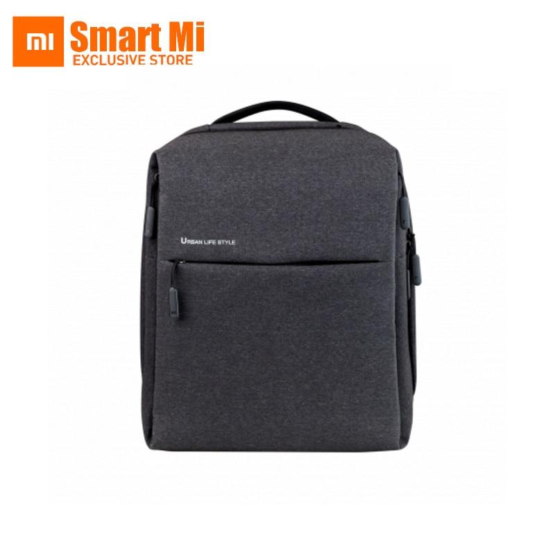 원래 Xiaomi 미 여성 남자 도시 배낭 비즈니스 스쿨 백팩 대용량 학생 비즈니스 노트북 노트북을위한 가방