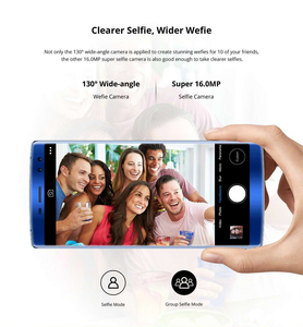 Image 5 - DOOGEE BL12000 SmartPhone MTK6750T Octa Core 4GB+32GB Android 7.1 Cellphone 6.0inch 18:9 Touch Screen Dual Camera Mobile Phone