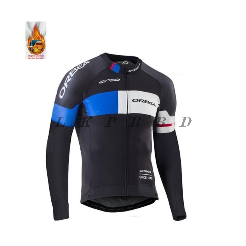 2018 Winter Thermal ORBEA ropa ciclismo mujer cycling jersey conjunto ciclismo maillot ropa ciclismo hombre cycling clothing
