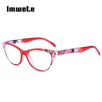 Imwete Unbreakable Reading Glasses Men Women Ultralight PC Frame Toughness Presbyopic Eye Glasses with Diopter Anti Fatigue Lens