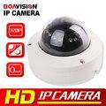720 P Mini Câmera Dome IP ONVIF H.264 IR-CUT 12 Pcs Diodos Emissores de Luz Ao Ar Livre Night Vision Plug & Play 1.0 Mega pixel Câmera De Segurança IP 1.0MP