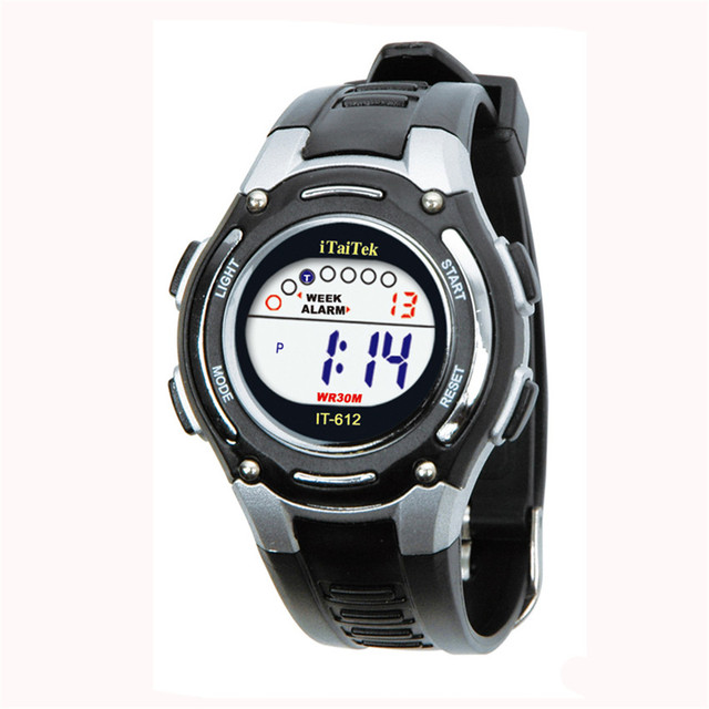 Children Boys Girls Swimming Sports Digital Waterproof Watch Digital Date Lumino