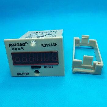 Buying 2PCS Electronic Counter 6-digit Blackout Memory With Voltage Production Counting DC12V DC24V DC36V AC220V 0-999999 KG11J-6H — stackexchange