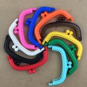 Image 1 - 20 шт., пластиковые рамы для кошелька с отверстиями, 8,5 см