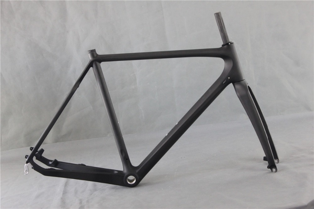 aliexpresscom buy 700c carbon road bike frame cyclocross bicycle frame disc brake cross frame bb30bsa and di2 compatible from reliable cyclocross