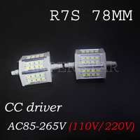 R7S LED Bulb Real Power 10W 118mm R7S Lamp Lampadas Led 10W 5730 Floodlight Replace Halogen