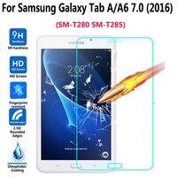 Gehärtetem Glas für Samsung Galaxy Tab EINE A6 7 0 2016 T280 T285 Display-schutzfolie Film Kratz Tablet Screen Protector