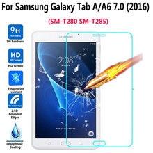 Закаленное стекло для samsung galaxy tab a a6 70 2016 t280 t285