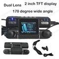 Grande promoção de Lente Dupla DVR Do Carro HD 170 Graus de Largura Car Angle Camera recorder