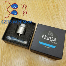 NEWEST NarDa RDA 316 stainless steel 22mm diamater rebuildable Vaporizer Tank Fit 510E Cigarette box mod VS Apocalypse GEN 2