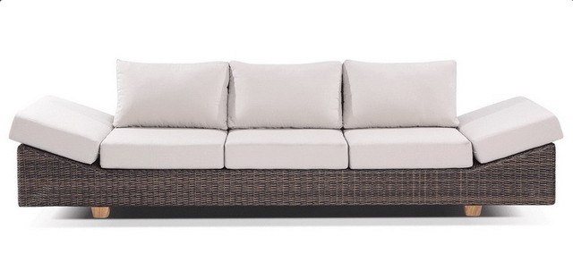 Sigma Hause Rattan Möbel 4 Sitzer Luxus Outdoor Lounge Sofa In Sigma