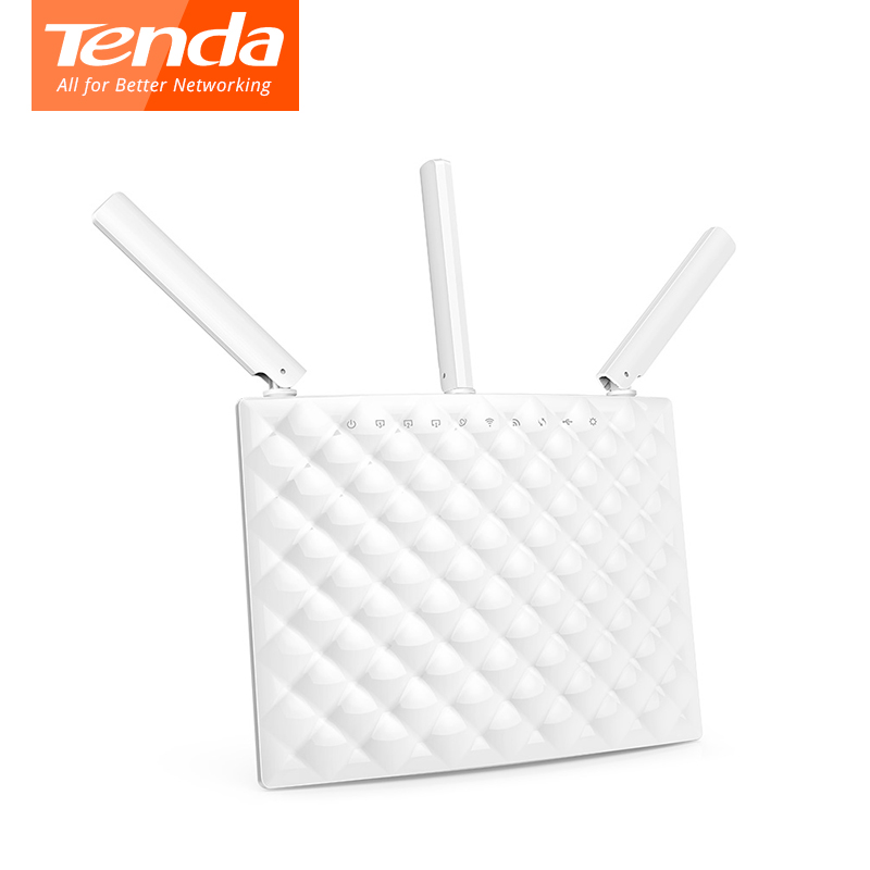все цены на  English Firmware Router  routeTenda AC15 Wireless router AC1900 2.4GHz/5GHz USB3.0 802.11ac Smart Dual-Band Gigabit WiFi Router  онлайн