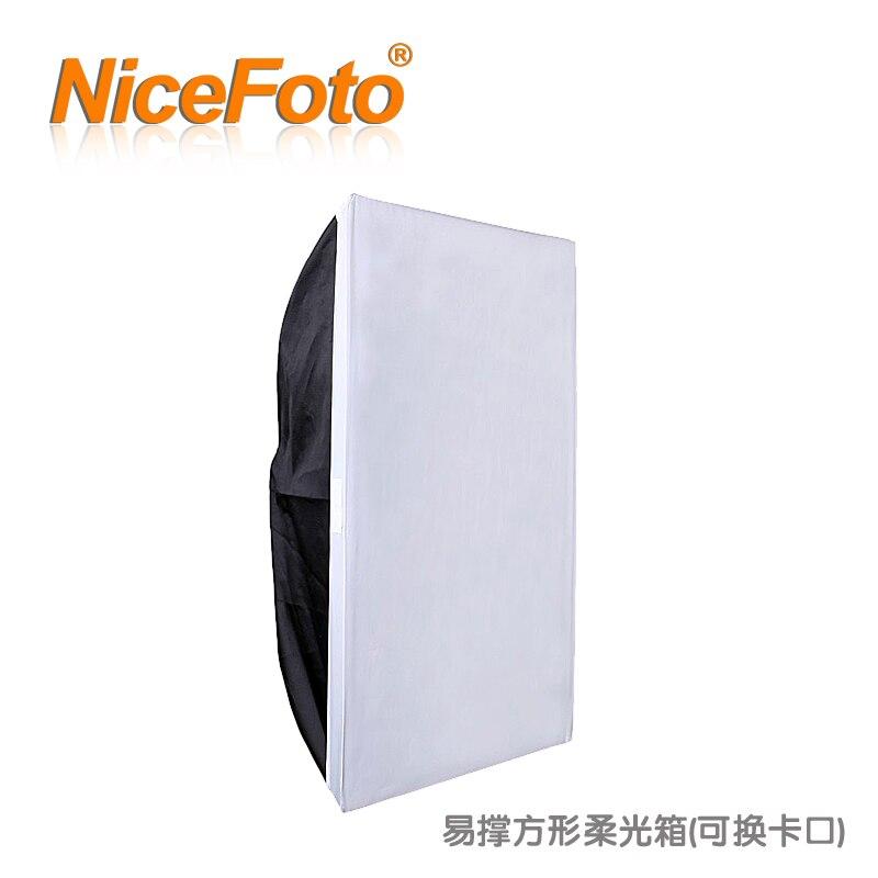 NiceFoto photographic equipment studio lights outdoor lamp general square softbox fesb 60x90cm|photographic equipment|studio light|studio lights outdoor - title=