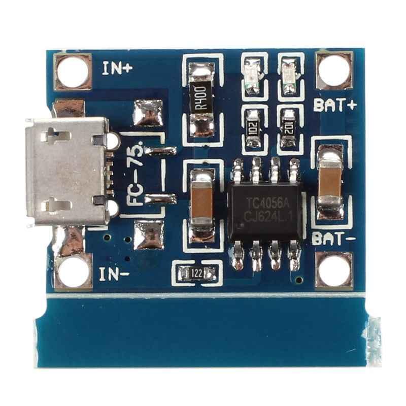 جديد-مايكرو-USB 1A ليثيوم أيون 18650 شاحن بطارية الليثيوم شحن TP4056 وحدة مجلس