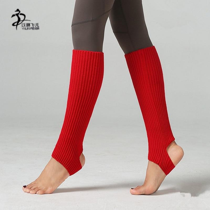 new-stirrup-leg-warmers-womens-knitting-font-b-ballet-b-font-dance-pilates-yoga-socks-font-b-ballet-b-font-dance-warmer-sock-43cm
