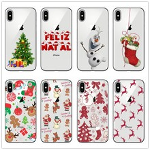 hot deal buy merry christmas for cover iphone 7 case 6 6s 8 7 plus xr x  5 5s  se for fundas iphone xs max case tpu for iphone x case