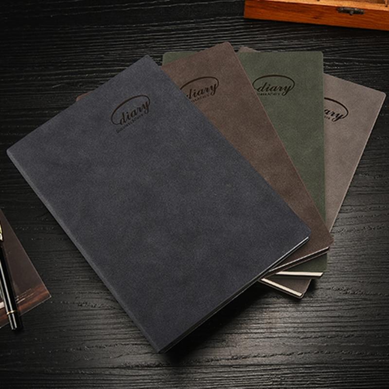 Clasic hardcover birou birou de birou scolare, notebook fin - Blocnotesuri și registre - Fotografie 3