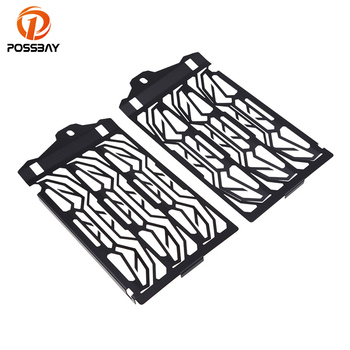 POSSBAY Black Motorcycle Radiator Guard Grill Cover Parts Protector Grill Covers Fit for BMW R1200GS 2013 2014 2015 2016
