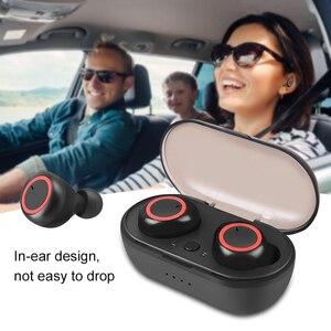 Image 2 - Kebidu Drahtlose TWS Bluetooth 5,0 Kopfhörer Stereo Ohrhörer Sport Kopfhörer Freisprecheinrichtung Gaming Headset für Telefon mit Mic Wasserdicht