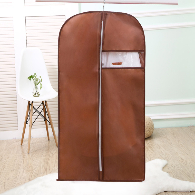 Newly Home Storage Bag for Storing Clothes Garment Suit Coat Dust Cover Protector Wardrobe Storage Bag Clothes Organizer