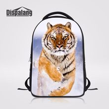 71aa9793d99d Dispalang Large Capacity Rucksack For Boys Tiger Prints College Laptop Back  Pack Women School Bags For Teenagers Casual Book Bag