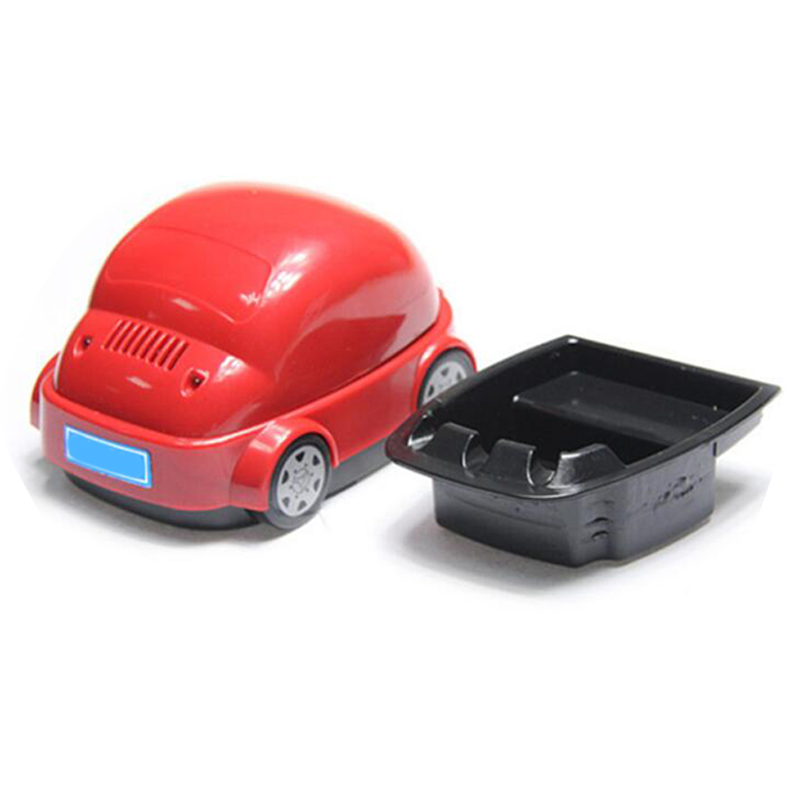 Useful Car Shaped Cigarette Smokeless Ashtray Purifier USB Good For Your Health Free shipping Environment Clean