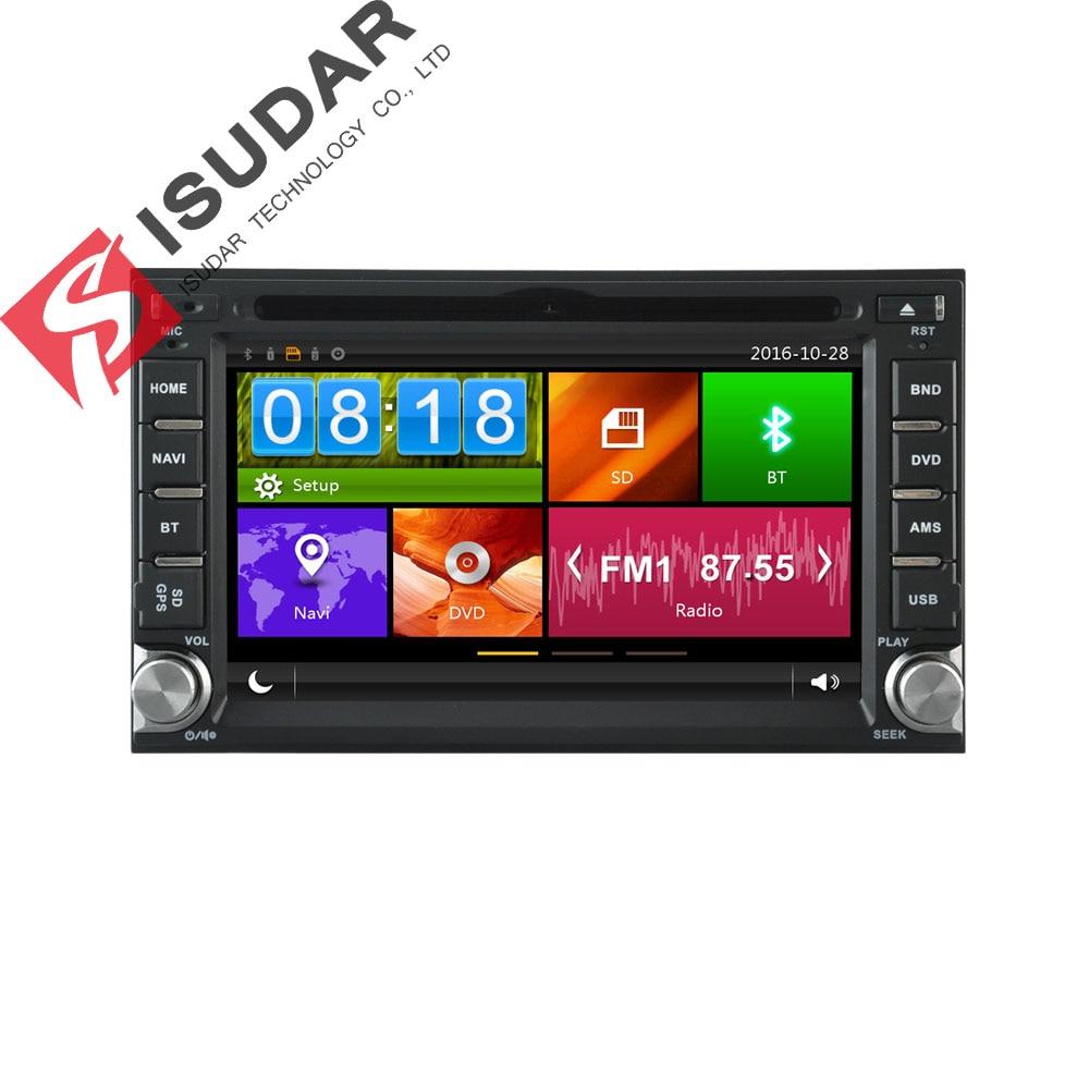 Isudar Universel De Voiture Lecteur Multimédia GPS 2 Din Pour Nissan/Tiida/x-trail Wifi 3g Hôte radio Surveillance de Pression Des Pneus Système DVR