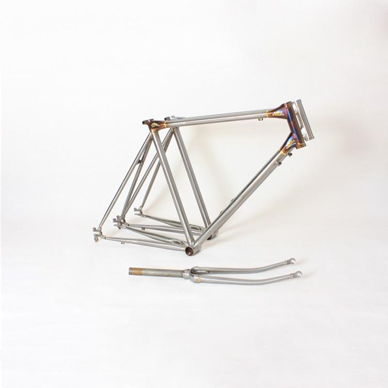 Chrome Copper plated frame road Bike frame DIY frame sculpture work fixie bike frame 700 C 50 cm 52 cm 54 cm 56cm цена