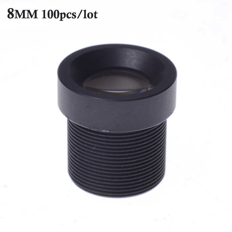 """Оптовая продажа 100 шт./лот CCTV объектив 8 мм M12 * 0,5 ИК-объектив с фокусным расстоянием, выдерживающие 40-градусный Мороз для видеонаблюдения 1/3 """"и 1/4"""" CCD Камера"""