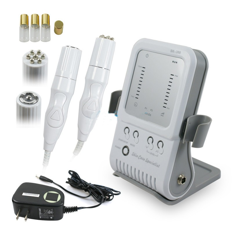 RF Radio Frequency Facial Machine Home Use Equipment Massager Skin Firming 2 in1 Skin Care Machine