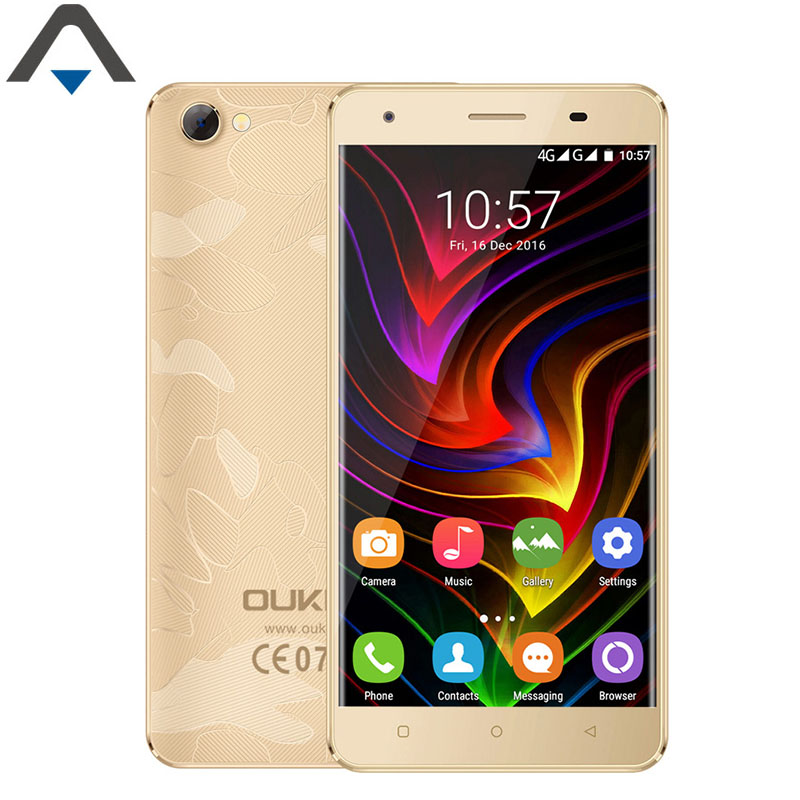 bilder für Original OUKITEL C5 Pro 4G LTE Handy Android 6.0 2 GB RAM 16 GB ROM 5 zoll MTK6737 Quad Core 720 P HD 2000 mAh Smartphone