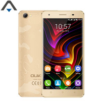 Originele OUKITEL C5 Pro 4G LTE Mobiele Telefoon Android 6.0 2 GB RAM 16 GB ROM 5 inch MTK6737 Quad Core 720 P HD 2000 mAh Smart Telefoon